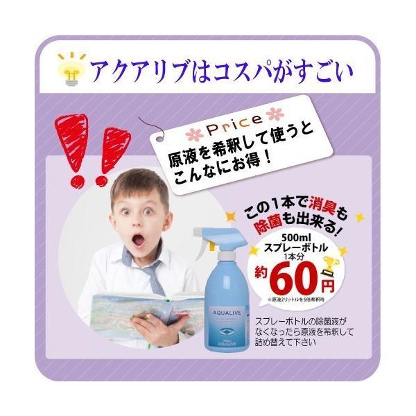 アクアリブ原液4リットル 次亜塩素酸水 除菌 消臭 ペット 赤ちゃん ウイルス|lechien-life|07