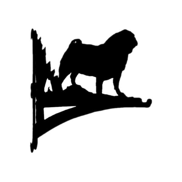 ハンギングバスケット パグ アニマル 動物 犬グッズ
