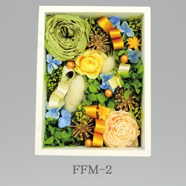 プリザーブドフラワー アレンジメント 記念日 ギフト フォトフレーム Mサイズ lecocon 03