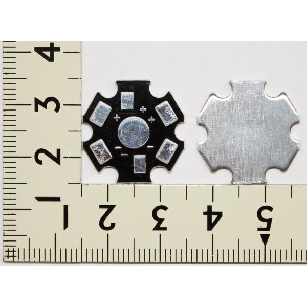 1W 3W ハイパワーLED用 基板 アルミ ヒートシンク 取付板 1個用 PCB LED 発光ダイオード|ledg|02