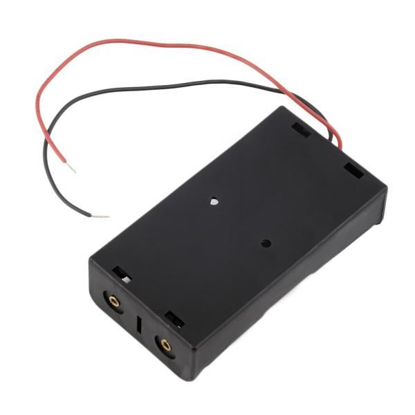 電池ボックス 18650 リチウムバッテリー用 2個直列仕様 7.4V 8V 8.4V 便利なリード線付♪  バッテリーケース 電池ケース|ledg|03