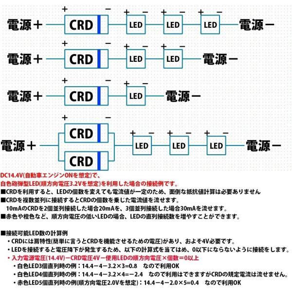 定電流ダイオード 石塚電子製 CRD E-562 5mA 5.6mA LEDを楽々点灯!|ledg|03