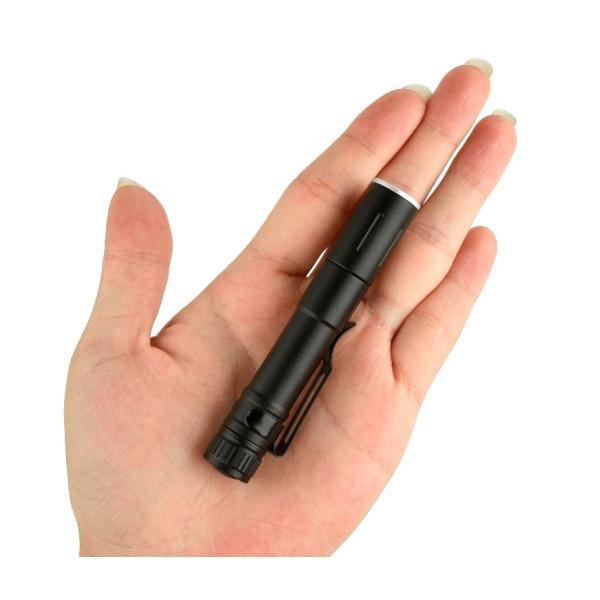 LEDフラッシュライト 懐中電灯 CREE社製 LED搭載 単4電池1本で動作 超コンパクトなのに明るい!! LED 発光ダイオード|ledg|03