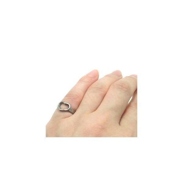 純チタンリング U44  ピンキーリング / 指輪 / リング / ハート /金属アレルギー対応
