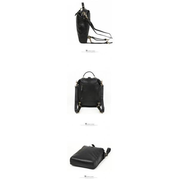 本革 メンズ リュックサック リュック ヌメ革 バッグ 鞄 通勤 通学 ビジネスバッグ|leisure-store|08