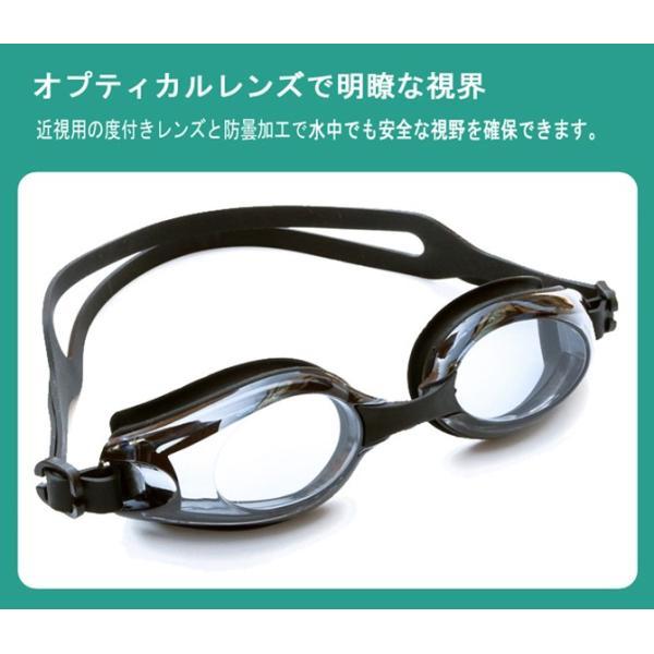 度付きゴーグル スイムゴーグル スイミングゴーグル 大人 水泳 男性 女性 水中メガネ 眼鏡 くもり止め UVカット 黒 フィットネス水着 C-go9 lemode1 03