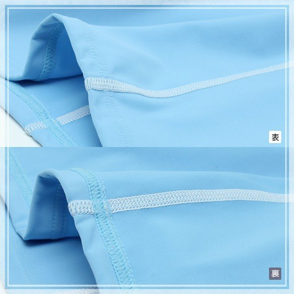 ラッシュガード 水着 レディース フィットネス 日本製  長袖 UVカット 水着ラッシュガード UV対策 紫外線対策 日焼け防止 9M 11L  M602  ルモード|lemode1|03