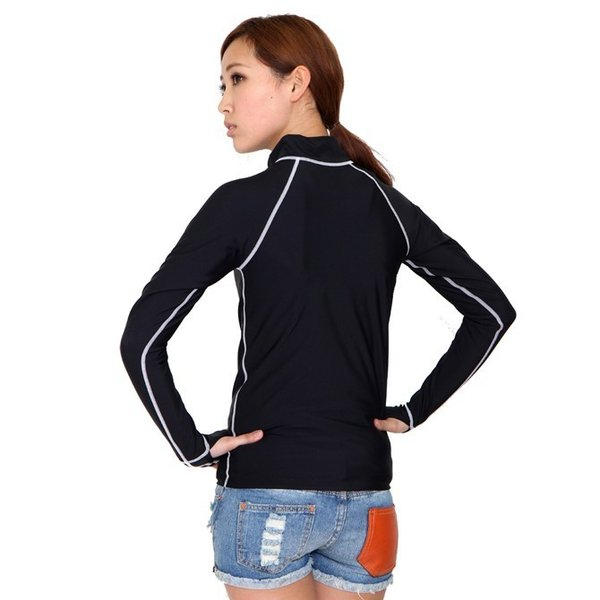 ラッシュガード 水着 レディース フィットネス 日本製  長袖 UVカット 水着ラッシュガード UV対策 紫外線対策 日焼け防止 9M 11L  M602  ルモード|lemode1|06