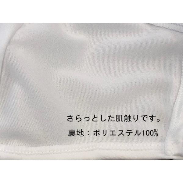 マスク 日本製 水着マスク 水着素材 水着生地 個包装 大人用 白 繰り返し使える 洗える 風邪 花粉症対策 予防 ブロック 医薬部外品|lemode1|04