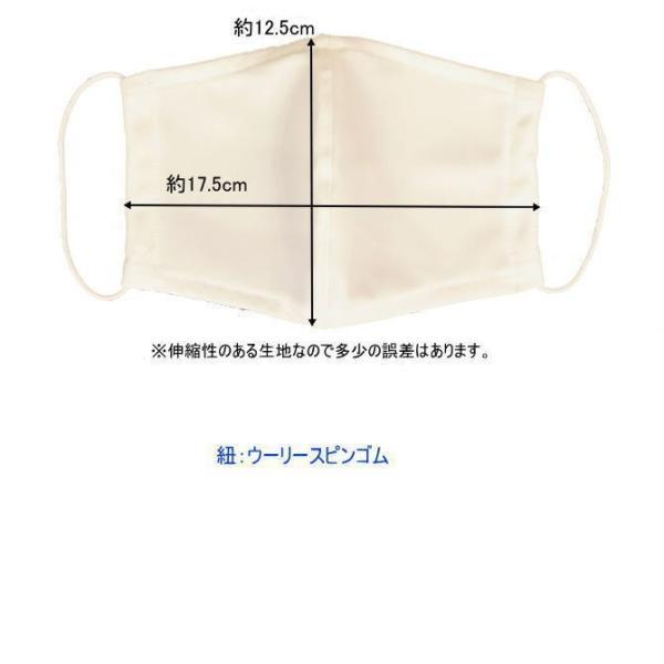 マスク 日本製 水着マスク 水着素材 水着生地 個包装 大人用 白 繰り返し使える 洗える 風邪 花粉症対策 予防 ブロック 医薬部外品|lemode1|05