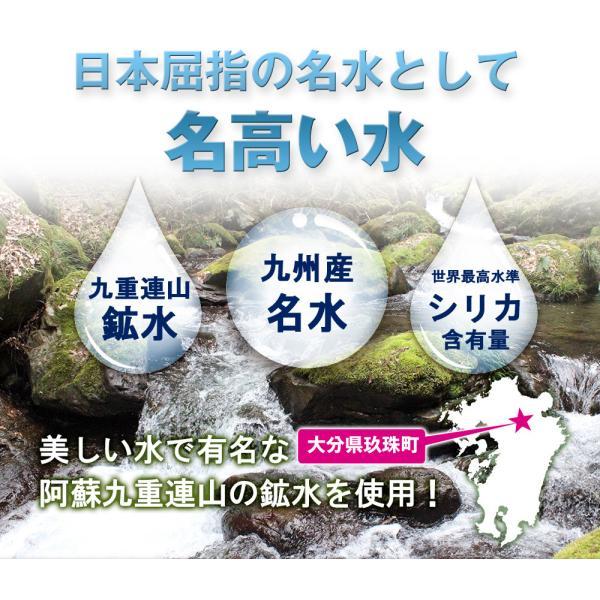 シリカ水 シリカ炭酸水 500ml 48本 炭酸水 MadonnA マドンナ ミネラルウォーター 高濃度シリカ ケイ素水 天然シリカ シリカウォーター 水 軟水 国産|lemonno-ki|10