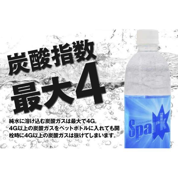 炭酸水 500ml 48本 最安値 強炭酸水 Spark スパーク プレーン まとめ買い 九州産 国産 純水 発泡水 スパークリングウォーター lemonno-ki 03