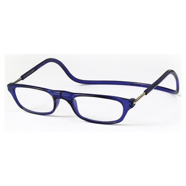 老眼鏡 クリックリーダー ブルー (BL)