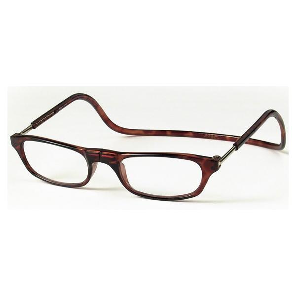老眼鏡 クリックリーダー ブラウン (BR)