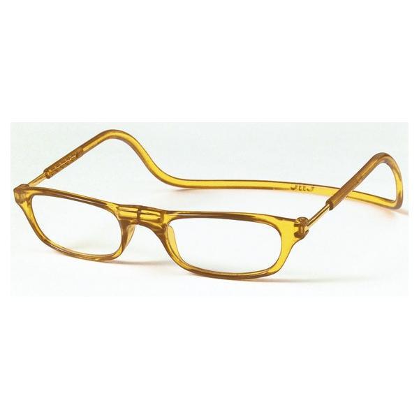 老眼鏡 クリックリーダー オレンジ (OR)