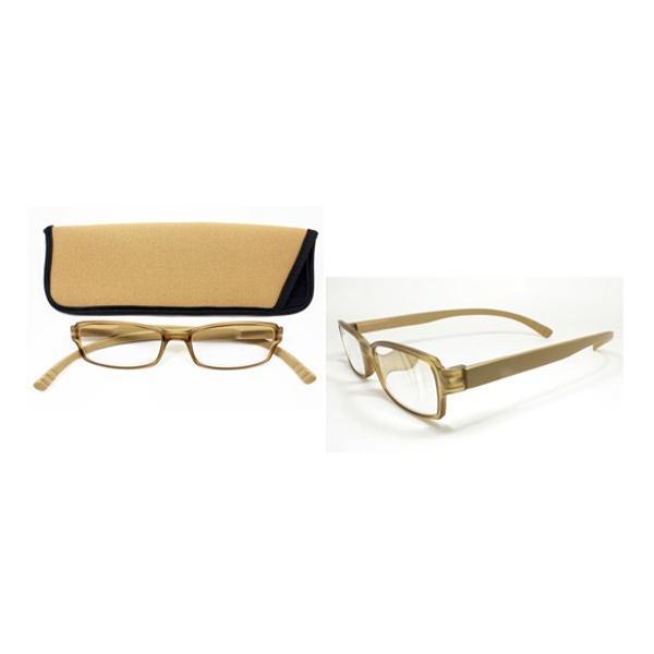 老眼鏡 ネックリーダー (首かけタイプ)G082-59 Lブラウン