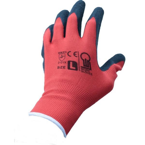 12双入り 軍手 天然ゴム背抜き手袋 背抜手袋  ゴム手袋 作業用手袋 作業手袋  業務用手袋  LEO