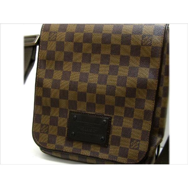 ルイヴィトン バッグ N51210 ダミエ ブルックリン クロスボディショルダー bag 婦人 メンズ LOUISVUITTON N51210|leonshop