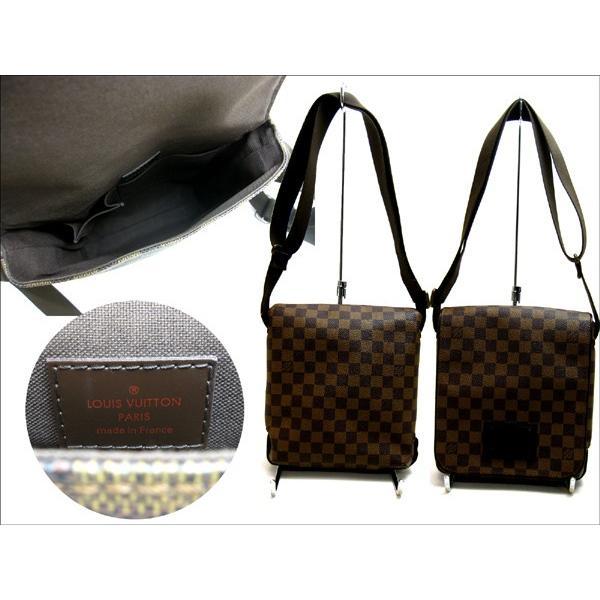 ルイヴィトン バッグ N51210 ダミエ ブルックリン クロスボディショルダー bag 婦人 メンズ LOUISVUITTON N51210|leonshop|02