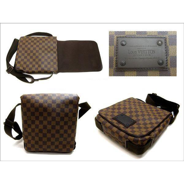 ルイヴィトン バッグ N51210 ダミエ ブルックリン クロスボディショルダー bag 婦人 メンズ LOUISVUITTON N51210|leonshop|03