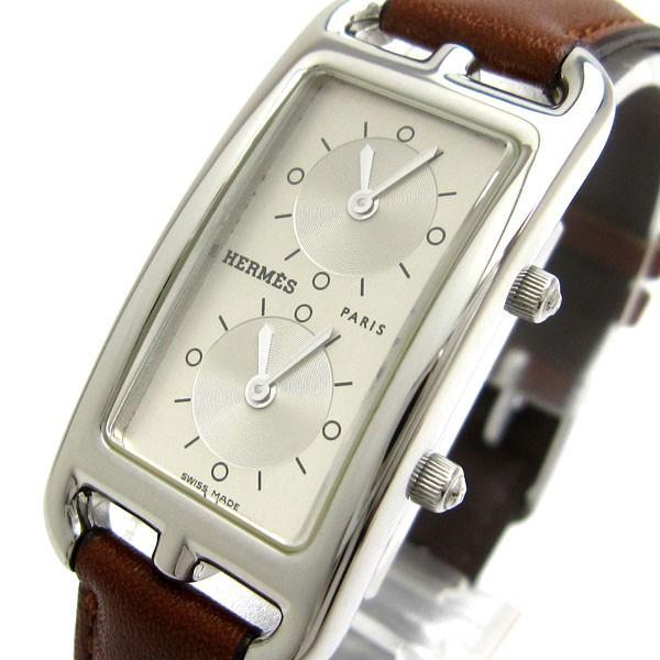 エルメス 時計 ケープコッド 2タイム レディース CC3.210 HERMES ナンタケット ドゥゾーン レア|leonshop
