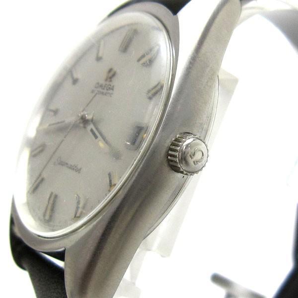 オメガ 時計 シーマスター メンズ オート シルバー文字盤 166.067 OMEGA アンティーク レア leonshop 03