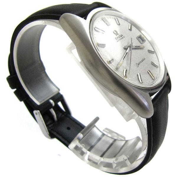オメガ 時計 シーマスター メンズ オート シルバー文字盤 166.067 OMEGA アンティーク レア leonshop 04