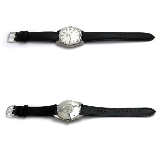 オメガ 時計 シーマスター メンズ オート シルバー文字盤 166.067 OMEGA アンティーク レア leonshop 06