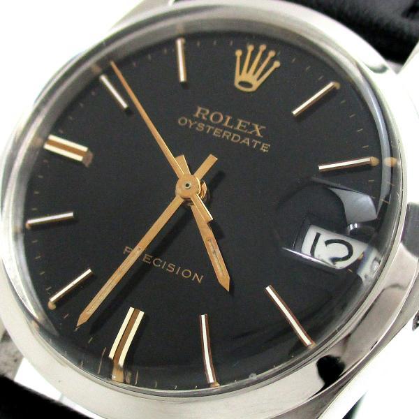 ロレックス時計オイスターデイトプレシジョンボーイズ手巻き6466ROLEX1962年代アンティークレディースメンズレア
