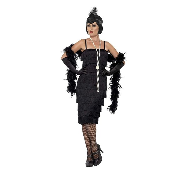 Smiffys Womens 1920s Coco Flapper Costume