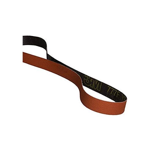 2 Width x 132 Length Wet//Dry 50 Grit Ceramic Grain Orange 2 Width x 132 Length Cloth Belt 777F TM Pack of 50 3M