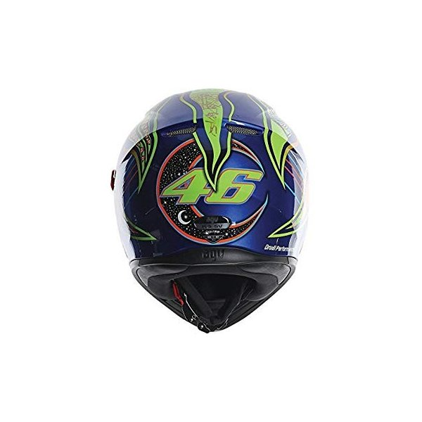 Multi AGV K3 SV 5-Continents Full-Face Motorcycle Helmet S Small