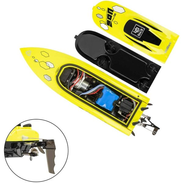 Included Two Batteries Lakes & Rivers Fast RC Boat for Adults ...