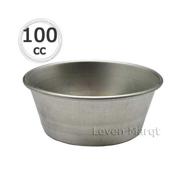 カップケーキ型 ブリキ製 100cc (3個セット) 焼型/ケーキ焼き型/製菓用品