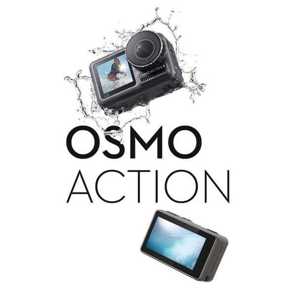 DJI OSMO Action アクションカメラ オスモアクション オスモ アクション ビデオカメラ  手ぶれ補正 デジタルカメラ 4K動画 HDR動画 防水 【国内正規品】|lfs|03