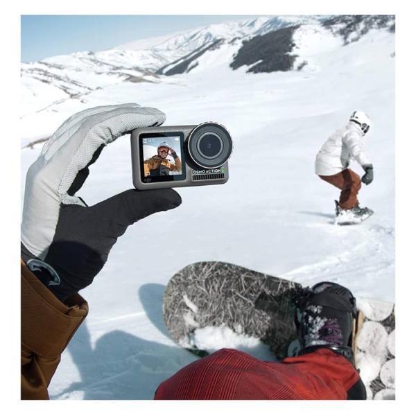 DJI OSMO Action アクションカメラ オスモアクション オスモ アクション ビデオカメラ  手ぶれ補正 デジタルカメラ 4K動画 HDR動画 防水 【国内正規品】|lfs|05