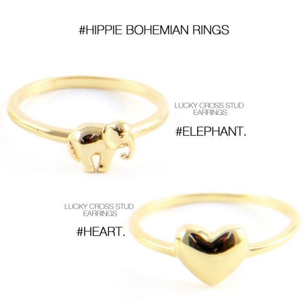 (メール便送料無料) ettika エティカ 指輪 リング ゴールド 金色 レディース 小ぶり ボヘミアン ヒッピー LA アメリカ セレブ 海外 インポート 7号 ピンキー|lfs|05