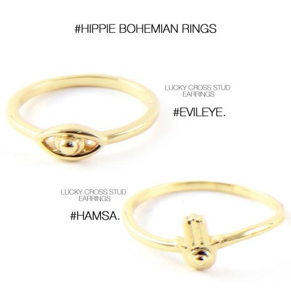 (メール便送料無料) ettika エティカ 指輪 リング ゴールド 金色 レディース 小ぶり ボヘミアン ヒッピー LA アメリカ セレブ 海外 インポート 7号 ピンキー|lfs|06