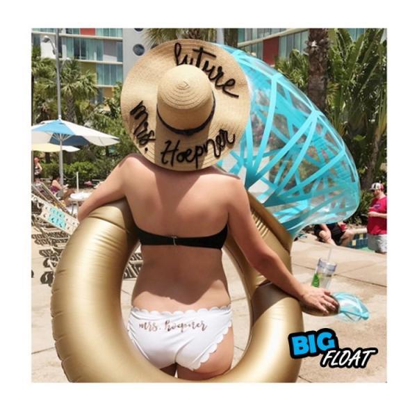 浮き輪 指輪 浮輪 うきわ リング ダイヤモンド ダイヤ 大型 大きい ビッグ フロート リング ビーチ プール SNS インスタ リングプールフロート 夏 プロポーズ|lfs|08