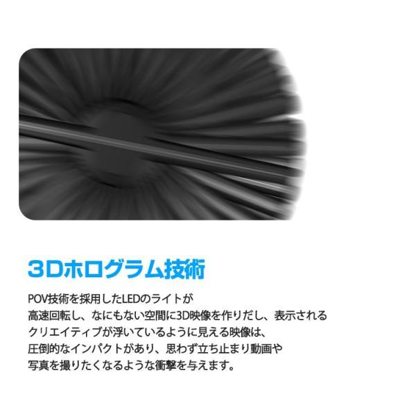 2019 3D hologramer LEDモニター 最新広告 3D映像 ディスプレイ 立体映像 広告ディスプレイ 3Dホログラム プロジェクター デジタルサイレージ LEDファン lfs 04