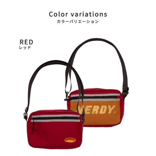 NERDY ノルディ 2WAY MINI BAG_RED ミニバッグ 韓国 ZICO 原宿 メンズ レディース ユニセックス ショルダーバッグ nerdy 正規品|lfs|05