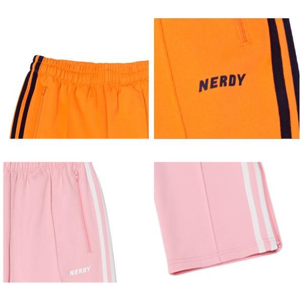 NERDY ノルディ NY Track Pants トラックパンツ 韓国 ZICO 原宿 メンズ レディース ユニセックス ジャージ nerdy 正規品 lfs 12