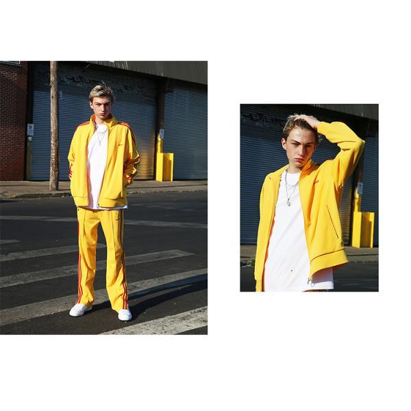 NERDY ノルディ NY Track Pants トラックパンツ 韓国 ZICO 原宿 メンズ レディース ユニセックス ジャージ nerdy 正規品 lfs 09