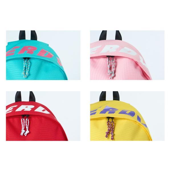 NERDY ノルディ Basic Logo Backpack バックパック リュックサック バック 原宿 メンズ レディース nerdy 正規品|lfs|09