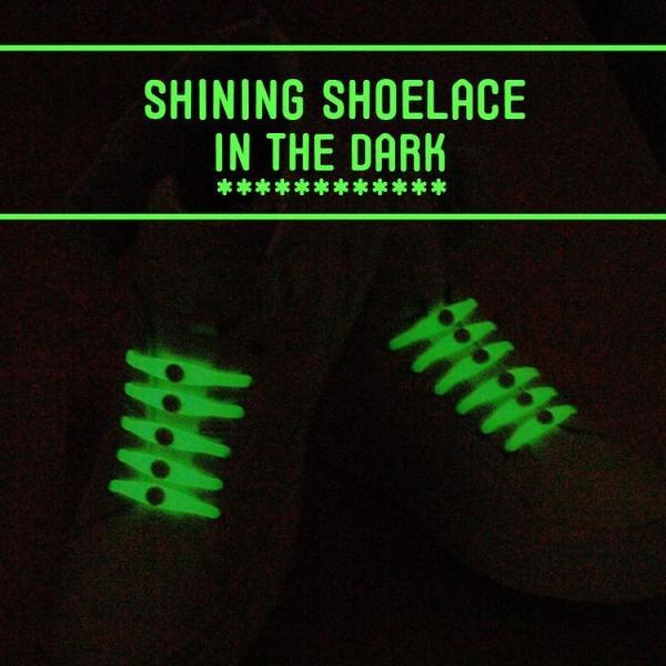 (メール便送料無料) 結ばない靴紐 光る靴紐 スニーカー シリコン シューレース 光る LED発光 結ばない 靴ひも 靴 シューズ SHULEPAS シュレパス lfs 04