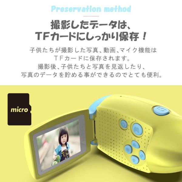キッズカメラ 約1200万画素 トイビデオカメラ 子供用 カメラ デジタルカメラ トイカメラ 自撮り 日本語 写真 動画 ゲーム USB充電 プレゼント おもちゃ lfs 12