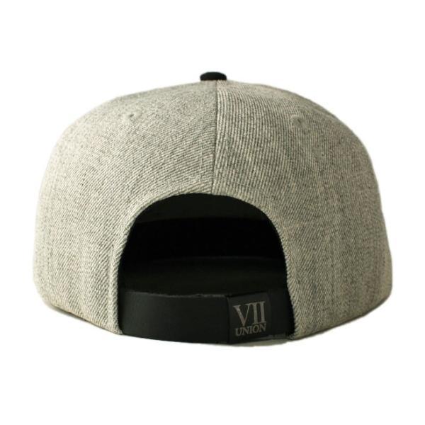 セブンユニオン 7UNION ストラップバックキャップ 帽子 メンズ レディース wt gy bk|liberalization|02