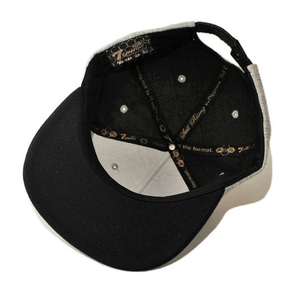 セブンユニオン 7UNION ストラップバックキャップ 帽子 メンズ レディース wt gy bk|liberalization|03