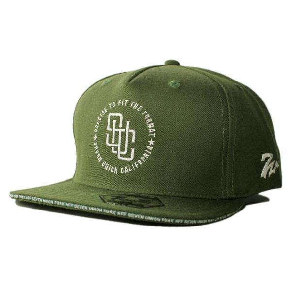 セブンユニオン 7UNION スナップバックキャップ 帽子  メンズ レディース wt gy bk|liberalization|09