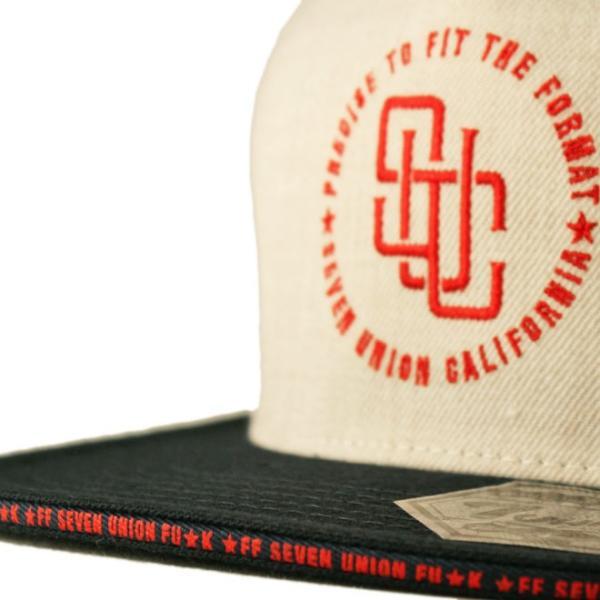 セブンユニオン 7UNION スナップバックキャップ 帽子  メンズ レディース wt gy bk|liberalization|04